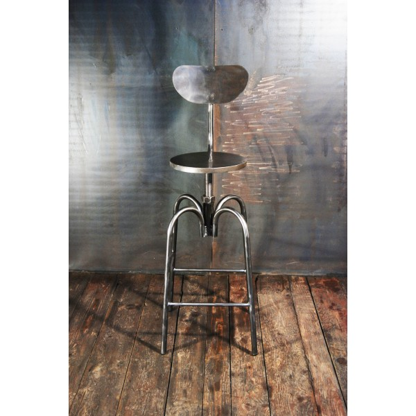Tabouret industriel chaises haute bar tabouret d - Chaise de bar style industriel ...