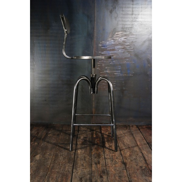 tabouret industriel chaises haute bar tabouret d. Black Bedroom Furniture Sets. Home Design Ideas